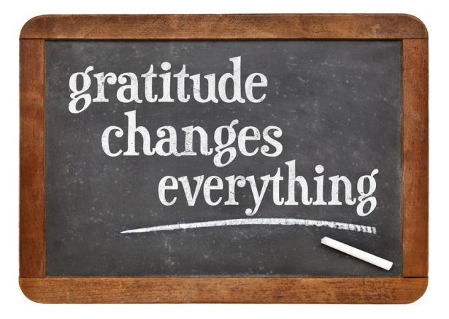 Want more of the good stuff in life? Expressing GRATITUDE is your currency